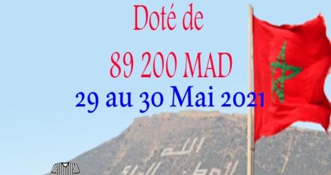 Championnat du Maroc Seniors (saison 2020-2021) sera organisé les 29 et 30/05/2021 au club ASA Agadir (LSS)